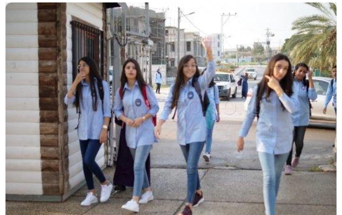 Photo of كفرقرع : طلاب المدارس يعودون الى مقاعد الدراسة
