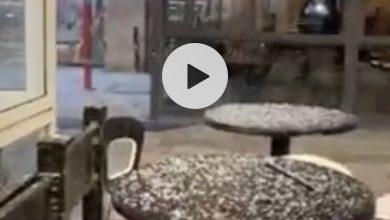 Photo of بالفيديو: تساقط الثلوج في القدس في هذة اللحظات