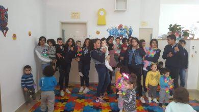 Photo of كفرقرع: استضافت حضانات ونادي الظهيره سويت هوم مجموعه من الطالبات والطلاب من نويدات الإعدادية