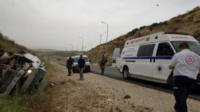 Photo of اصابة شابة (24 عاما) من قلنسوة بجراح متوسطة جراء حادث طرق قرب حاجز جبارة