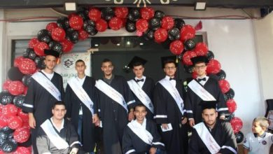 Photo of ام الفحم: مدرسة المفتان المهنيّة تحتفل بتخريج الفوج الـ33