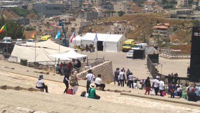 Photo of الناصرة:بدء توافد المؤمنين بجوشوا الى جبل القفزة وسط ازدحامات مرورية