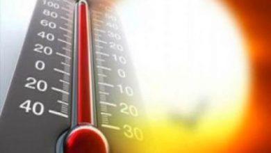Photo of حالة الطقس: أجواء حارة ودرجات الحرارة أعلى من معدّلها السنوي