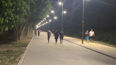 Photo of كفرقرع : المتمشى الطبيعي ليلاً  حيث رآية الاحترام تسمو فوق الجميع