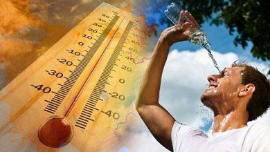 Photo of كتلة هوائية شديدة الحرارة تضرب البلاد بدءًا من الغد