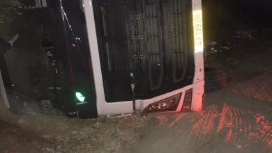 Photo of #عرعرة : اصابة واحدة اثر انقلاب شاحنة في حي الباطن . ورسالة للمجلس المحلي عرعرة