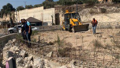 Photo of مجلس كفر قرع: بدء أعمال التطوير في دوار مدخل البلده.