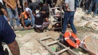 Photo of فاجعة في الخليل: مصرع 6 أشخاص بينهم طفل إثر سقوطهم بحفرة تصريف في دير العسل