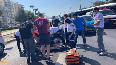Photo of يافا: إصابة متوسطة لشرطي بحادث طرق بين دراجتين ناريتين