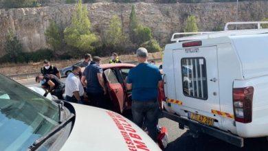 Photo of اصابة 5 اشخاص بحادث طرق قرب البعينة نجيدات