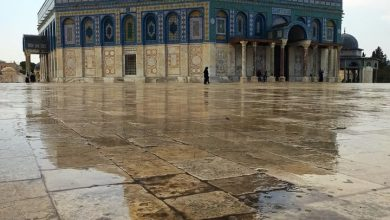 Photo of أمطار الخريف تزور القدس لأول مرّة هذا الموسم وتضفي أجواءً مميزة