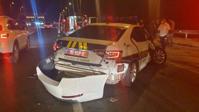Photo of مفرع كفرقرع- ڤيرد : 4 اصابات جراء حادث سير بين سيارة شرطة واخرى خاصة …