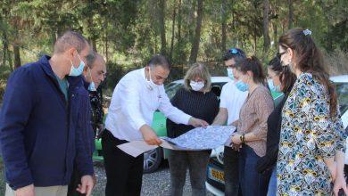 Photo of كفرقرع: جلسة تخطيطية أولية وجولة ميدانية في مسطح رقم 9 في حي العرق