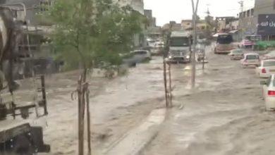 Photo of الامطار تُغرق شوارع في البلدات العربية
