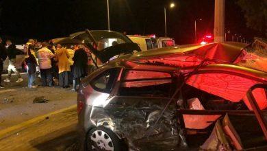 Photo of 7 إصابات متفاوتة إثر حادث طرق على شارع رقم 4 قرب تسروفا – عتليت