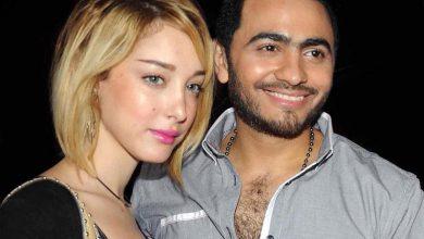 Photo of النجم المصري تامر حسني يطلق زوجته المغربية بسمة بوسيل