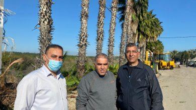 Photo of مجلس كفرقرع المحلي يقوم بحملة تنظيف واسعه بمحاذاة وادي البراق