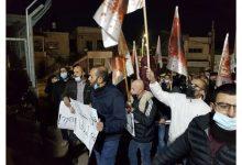 Photo of #باقة_الغربية : اهالي باقة الغربية يتظاهرون ضد العنف والجريمة قبالة مركز الشرطة: لن نسكت بعد اليوم