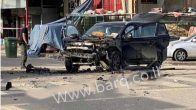 Photo of قلنسوة : انفجار سيارة واصابة عابر سبيل بجراح طفيفة