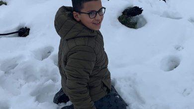 Photo of اهالي من كفرقرع ووادي عارة يرسلون لموقع البرق صور الثلوج في الهضبة