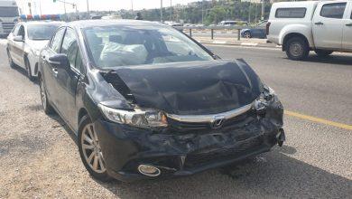 Photo of كفرقرع ؛ حادث طرق مدخل البلده دون اصابات