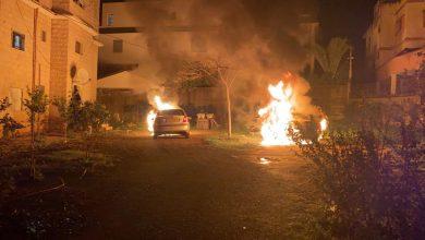 Photo of عرعرة : عرعرة: إضرام النيران بمركبتين منتصف الليلة