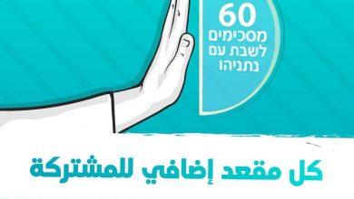 Photo of النائب أيمن عودة: كل مقعد إضافي للمشتركة يقوينا ويُضعف نتنياهو.