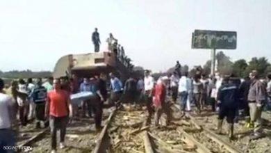Photo of مصر.. قطار يخرج عن القضبان في القليوبية وأنباء عن ضحايا