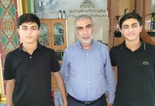 Photo of حفظة_كتاب_الله : الطالبان الحافظان لكتاب الله ،أحمد ومحمود برية من الفريديس
