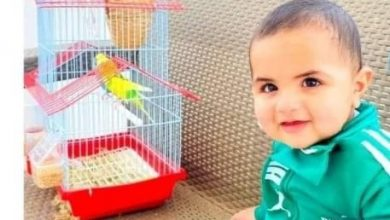Photo of رهط :لقي الطفل علي إيهاب العتايقة الذي يبلغ من العمر عاما واحدامصرعه