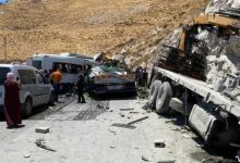 Photo of قتيلان (55 و31 عامًا) و5 إصابات متفاوتة إثر حادث طرق مروّع وقع شرقي نابلس