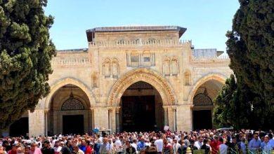 Photo of 40 الف مصل أدّوا صلاة الجمعه في رحاب المسجد الأقصى المبارك