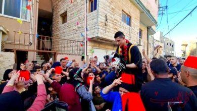 Photo of بعد 5 سنوات في السجون الإسرائيلية  أم الفحم تستقبل الأسير المحرر مهدي جبارين