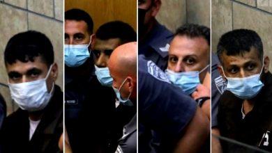 Photo of مكبلوا الآيدي والآرجل: محكمة الناصرة تمدد اعتقال الاسرى الاربعة لـ9 أيام