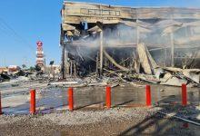Photo of الحريق في قلنسوة :صاحب المجمع زيد غزاوي : الخسائر تقدر بـ 40 مليون شيكل والاضرار كبيرة