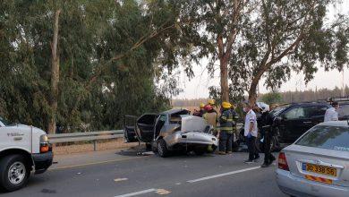 Photo of 3 اصابات منها اصابة حرجة جراء حادث طرق على شارع 66 قرب قرية زلفة