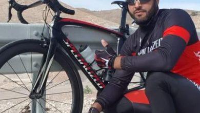 Photo of المغامر احمد حسن مصري من الطيره قطع مسافه 183 كيلو متر على دراجته