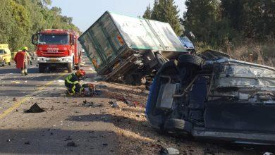 Photo of مصرع شخص في حادث طرق مروع بالقرب من مفرق عين كرمل